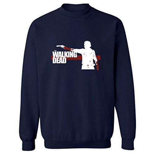 XXW The Walking Dead La Felpa Negan Jacket Coat Fashion Uomo Donna