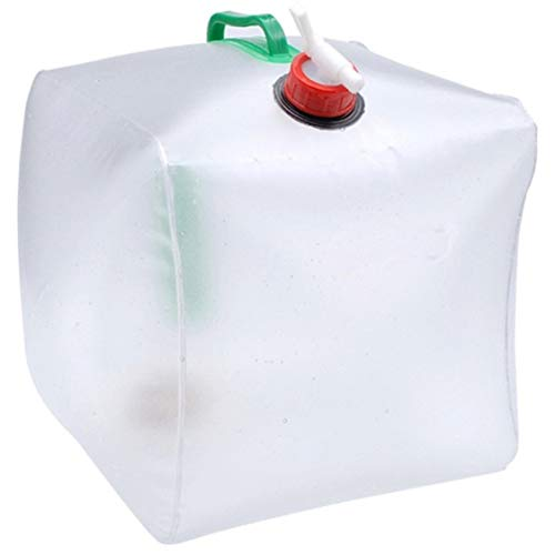FancyswES8eety Bolsa de Agua Potable Plegable de 20L Deportes al Aire Libre...