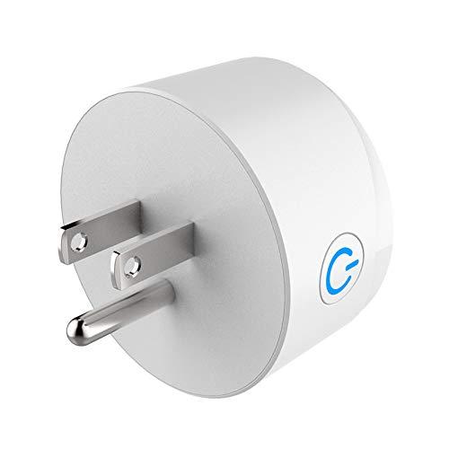 KLOVA Mini Interruptor de Enchufe de casa Inteligente con Control de Voz Remoto inalámbrico de Salida de Enchufe WiFi de EE. UU.