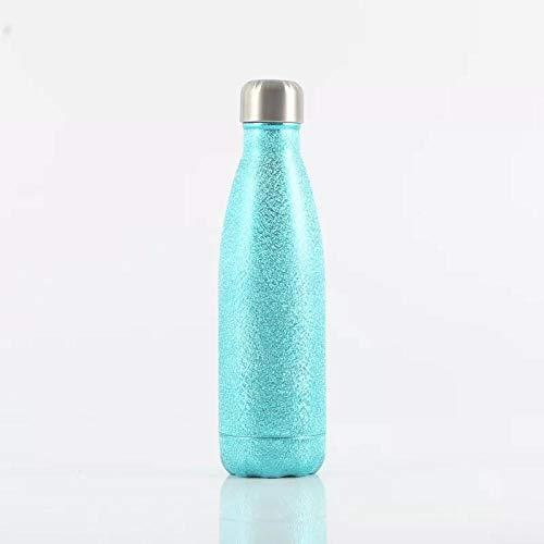 FGJFG Boquilla Para Beber Fácilmente-Resistente a Manchas y Olores/Taza de cola caldera deportiva-green_500ml/Libre de BPA,ftalatos,plomo o cadmio