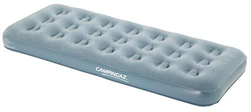 Campingaz Quickbed Single Luchtbed, voor binnen en buiten, één persoon, suède logeerbed, comfort, eenpersoonsbed, campingbed, wandelen, trekking, festivals, 188 x 74 x 19 cm, maximale 148 kg.