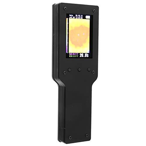 Cámara de imágenes infrarrojas, cámara termográfica infrarroja portátil de 2,4 pulgadas MLX90640 Computadora conectada por USB 100 fotos para la ciencia de la industria