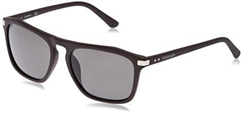 Calvin Klein EYEWEAR Mens CK18537S Sunglasses, Tobacco, 5618