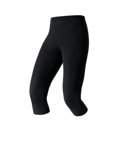Odlo Damen Traininghose 3/4 Warm, Black, L, 152051