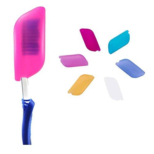 O'woda 6 Pezzi Coperture per Spazzolino da Denti,per spazzolino Elettrico e Manuale,Anti Polvere, Antibatterica,per Casa, Viaggio