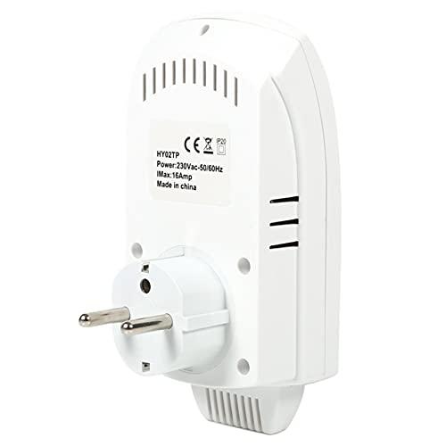 Termostato de salida programable ecológico Controlador de temperatura de ahorro de energía, para controlar el aire acondicionado(European regulations)