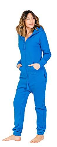 Moniz Damen Jumpsuit, arktikblau, Größe S