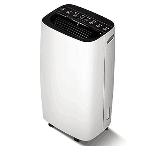 Deumidificatore domestico 2,5 litri Serbatoio di acqua per cantina bagno garage grande stanza staccabile portatile con tubo di scarico/modalità lavanderia/ruote