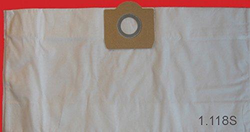 10 Staubsaugerbeutel, Staubfilterbeutel, Staubsäcke für Rowenta ZR 80, Vorace, RU 30-46, RU 520 S, RU 521, BP 61, Allround NT-Modelle, (29 ltr. Behälter), Synthese Vlies