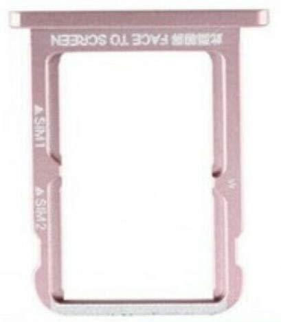 Desconocido Bandeja SIM para Xiaomi Mi A2 / 6X Color Rosa Soporte Adaptador Porta Tarjeta Nano Micro SD