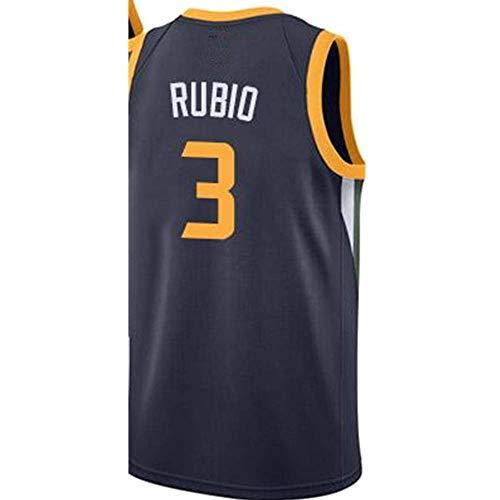 Lalagofe Men_Ricky_#3_Rubio_Navy_Game_Jersey