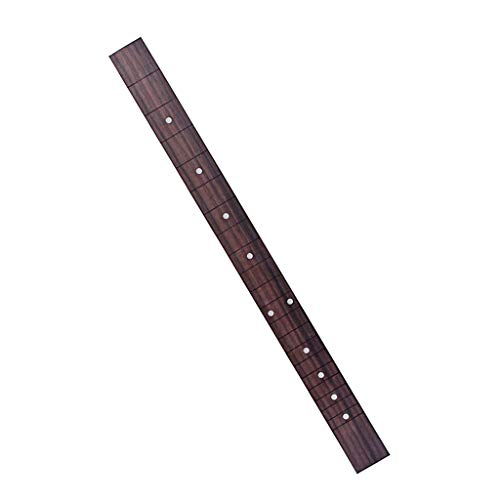 T TOOYFUL Palisander Zigarrenbox Gitarren Griffbrett 21 Fret für 3 Saiten Cigar Box Gitarre DIY Teile