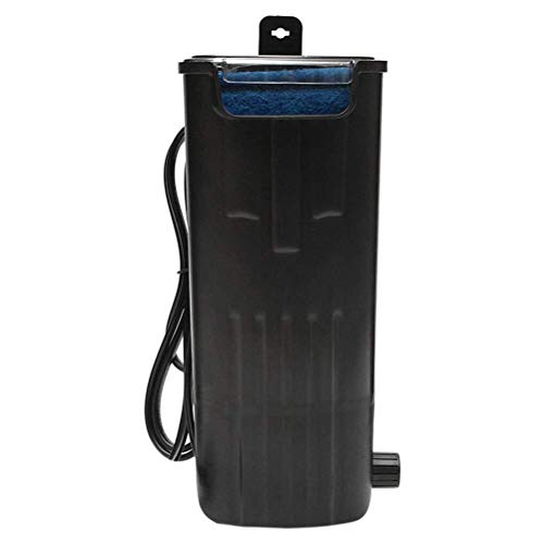Fisch Aquarium Wasserpumpe Unterwasserpumpe Aquarium Turtle Filter Quiet Flow Wasserpumpe Reptilien Tank Low Level Wasserfallfilter for kleine Aquarium Turtle Tank