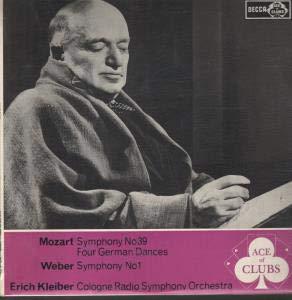 Mozart - Symphony No.39 / Four German Dances