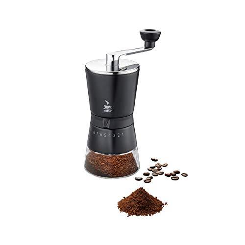 GEFU 16331 Moulin à café, Argent/Noir