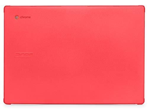 """mCover - Carcasa rígida para portátil Acer Chromebook 314 C933 de 14"""", color rojo"""