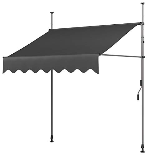 MVPower clamp awning balcony, awning sun protection...