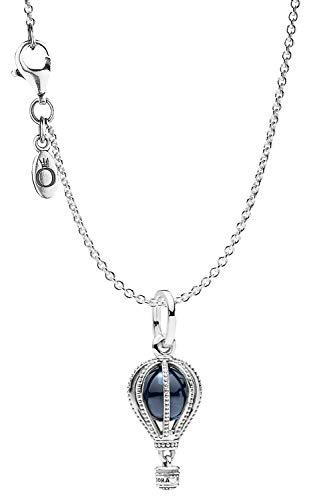 Pandora Halskette mit Anhänger Heißluftballon Silber 925 75250