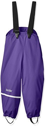 CareTec Kinder Regenlatzhose, wind- und wasserdicht (verschiedene Farben), Violett (Purple 633), 140