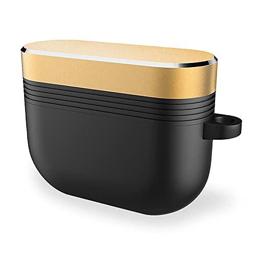 Caso del auricular con el gancho anti caída de almacenamiento de silicona protectora para las cápsulas de aire Pro(B)
