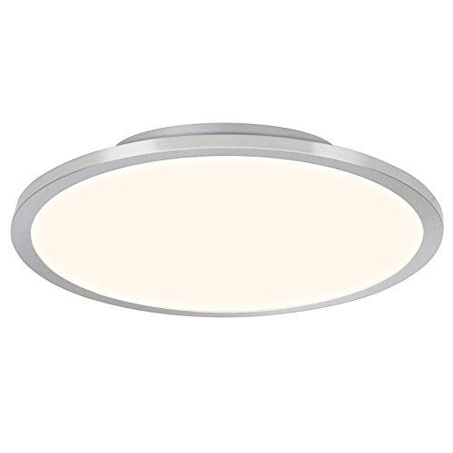 Preisvergleich Produktbild LED Panel Deckenleuchte,  per Fernbedienung dimmbar,  Ø60cm,  46 Watt,  3800 Lumen,  2700-6500 Kelvin aus Metall / Kunststoff in eisen