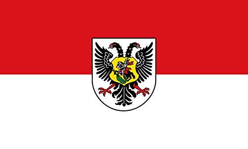 Unbekannt magFlags Tisch-Fahne/Tisch-Flagge: Ortenaukreis (Kreis) 15x25cm inkl. Tisch-Ständer