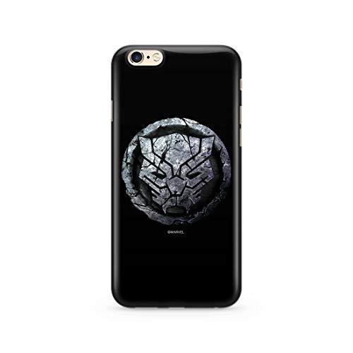 Original & Offiziell Lizenziertes Marvel Schwarzer Panther Handyhülle für iPhone 6, iPhone 6s, Hülle, Hülle, Cover aus Kunststoff TPU-Silikon, schützt vor Stößen & Kratzern