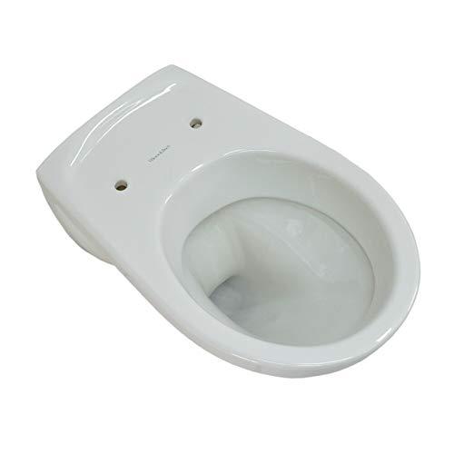 Villeroy & Boch Wand WC (ohne Deckel) Tiefspüler OMNIAclassic 36x55cm weiß alpin mit Ceramikplusbeschichtungi, 768210R1