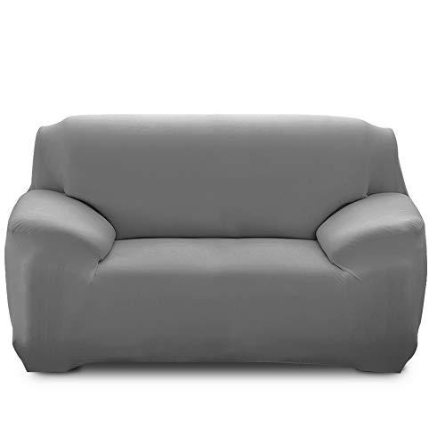Souarts Sofabezug elastische Stretch Sofaüberwurf Sofa Couch Sessel Husse Bezug Decke Sofabezüge 1/2 / 3/15 Sitzer