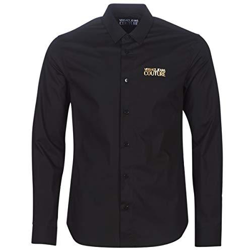 Versace Jeans Couture Hombre Camisa Nero 48 EU