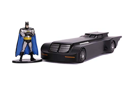 Jada Coche Batmóvil metal 1:32 serie animada con figura de Batman (253213004)