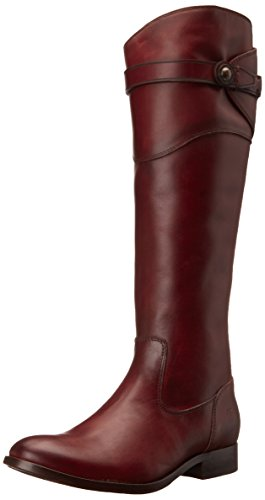 Frye Molly Button Tall Femmes US 6.5 Brun Foncé Botte