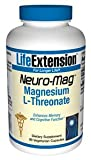Life Extension Neuro-Mag Magnesium L-Threonate (90 Vegetarian Capsules) from Life Extension