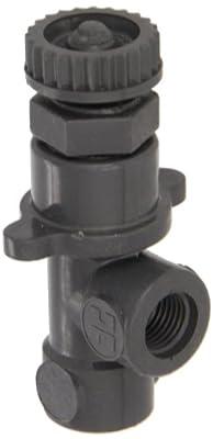 "Hayward PVC Globe Valve, FPM Seal, 1/4"" Threaded from Hayward"