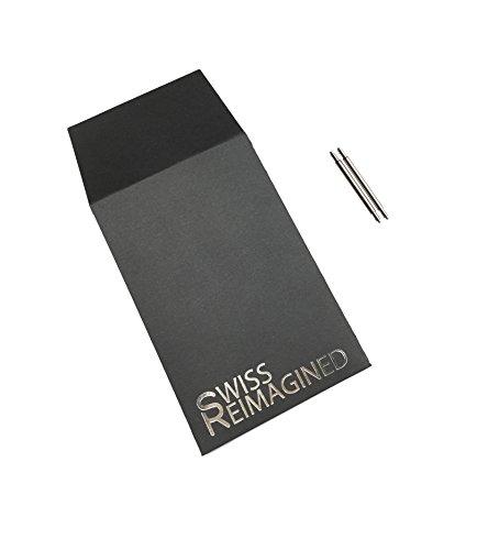 『22X1.8mm ステンレス製時計用ピン 時計バンド/バックル装着用 (2本セット)』の4枚目の画像