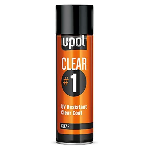 U-Pol Products 0796 Clear CLEAR#1 High Gloss Coat - 450ml