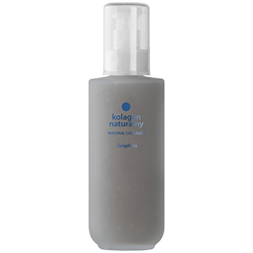 Colway NATURAL KOLLAGEN GRAPHIT - Haar Nägel & Füße Therapie Bio Anti-Age Raue Haut Tiefe Regeneration 200ml