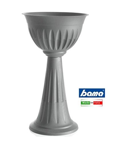 Bama alba Cup, fiore, 30x 43x 46cm, Grey, 30x43x74.5 cm