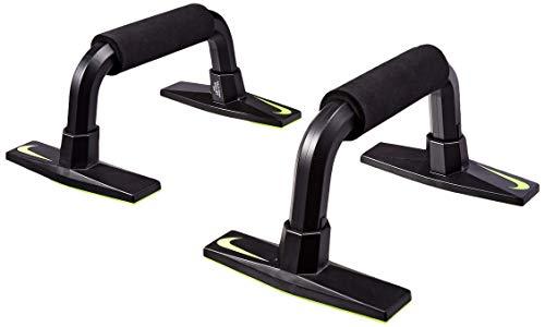 Nike Grip 3.0 Liegestützegriffe, Black/Volt, One Size