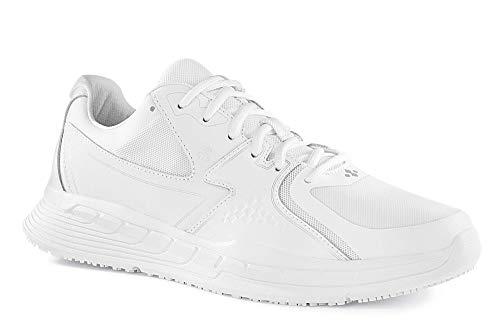 Shoes for Crews 29166-44/9.5 CONDOR Rutschhemmende Turnschuhe, Größe 44 EU, Weiß