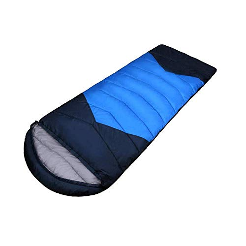 Thick Adult Autumn and Winter Sleeping Bag, Four Seasons Universal Single Siesta Bag, Travel Single/Double Sleeping Bag,Can Be Spliced Envelope Sleeping Bags,Camping beds for Adults WKY