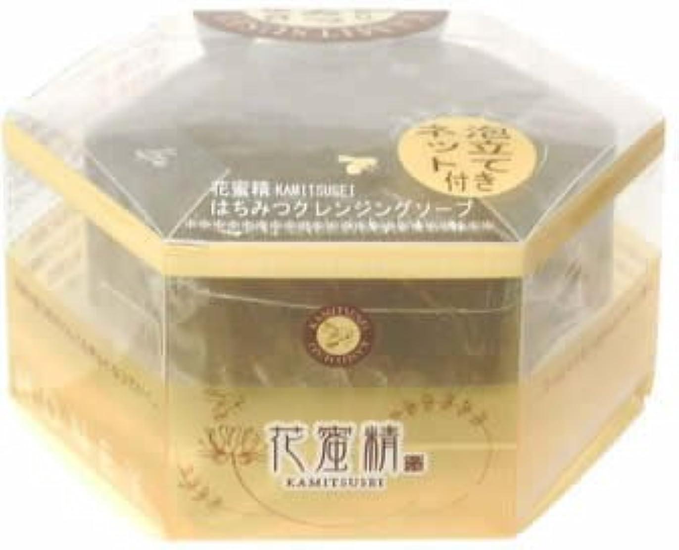 経歴予想外魅力的であることへのアピール花蜜精 はちみつ クレンジングソープ 85g