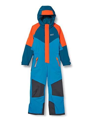 Jack Wolfskin Kinder SNOW SNOWSUIT KIDS wasserdichter Schneeanzug, Blue Pacific, 116
