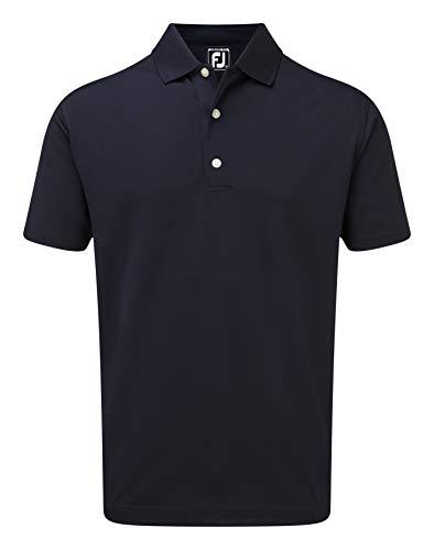 Footjoy Stretch Pique Solid Rib Knit Collar Polo, Azul (Azul Navy 90085), XX-Large (Tamaño del Fabricante:XXL) para Hombre