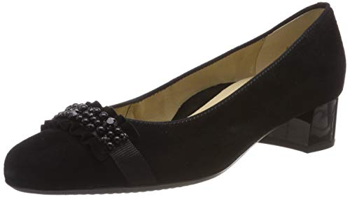 ARA Damen Vicenza 1216617 Pumps, Schwarz 08, 40 EU