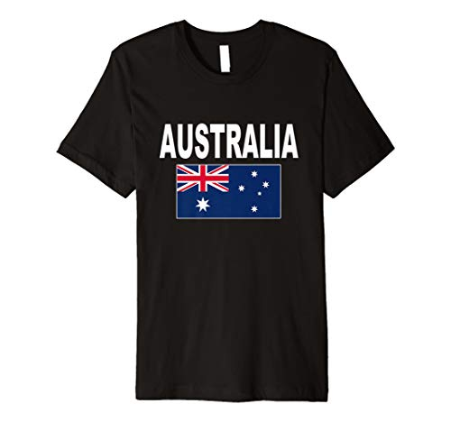 Australien T-Shirt Flagge Aborigines Shirt Cool Unisex Top Tee
