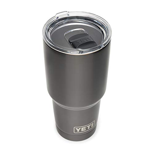 YETI Rambler 30 oz Tumbler, Stainless Steel, Vacuum Insulated with MagSlider Lid, Graphite