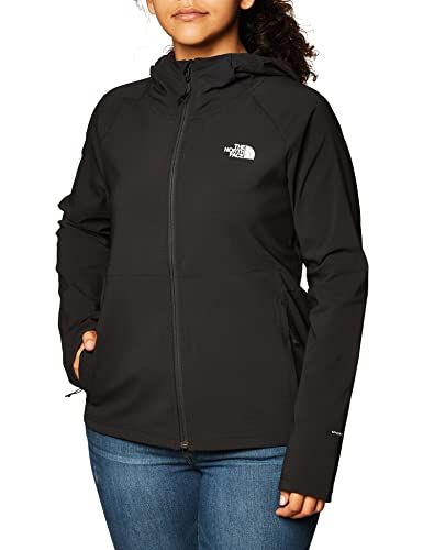 The North Face W Apex Nimble Hoodie, chaqueta Softshell para mujer TNF Black XS