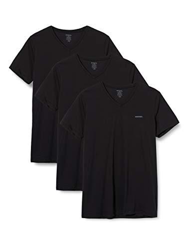 Diesel Herren T-Shirt UMTEE-JAKE-VTHREEPAC (3er Pack), Schwarz (Black 900), XXL