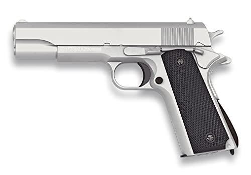 Tiendas LGP, Albainox 38344 Arma Airsoft, Pistola Aire Suave, Potencia 0,8 Julios, Munición Bolas PVC 6 mm.